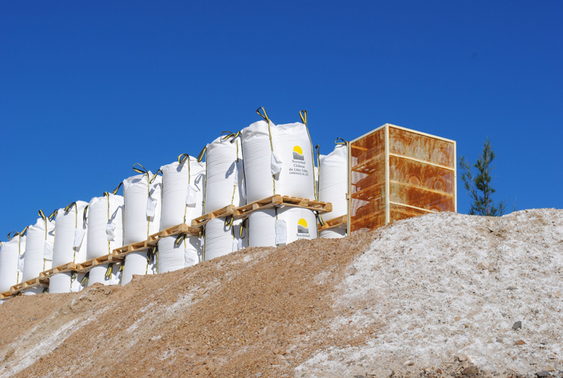 Silver-Peak-Production-Bag-Lithium-Product